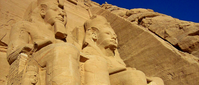 Temple of Abu Simbel Egypt
